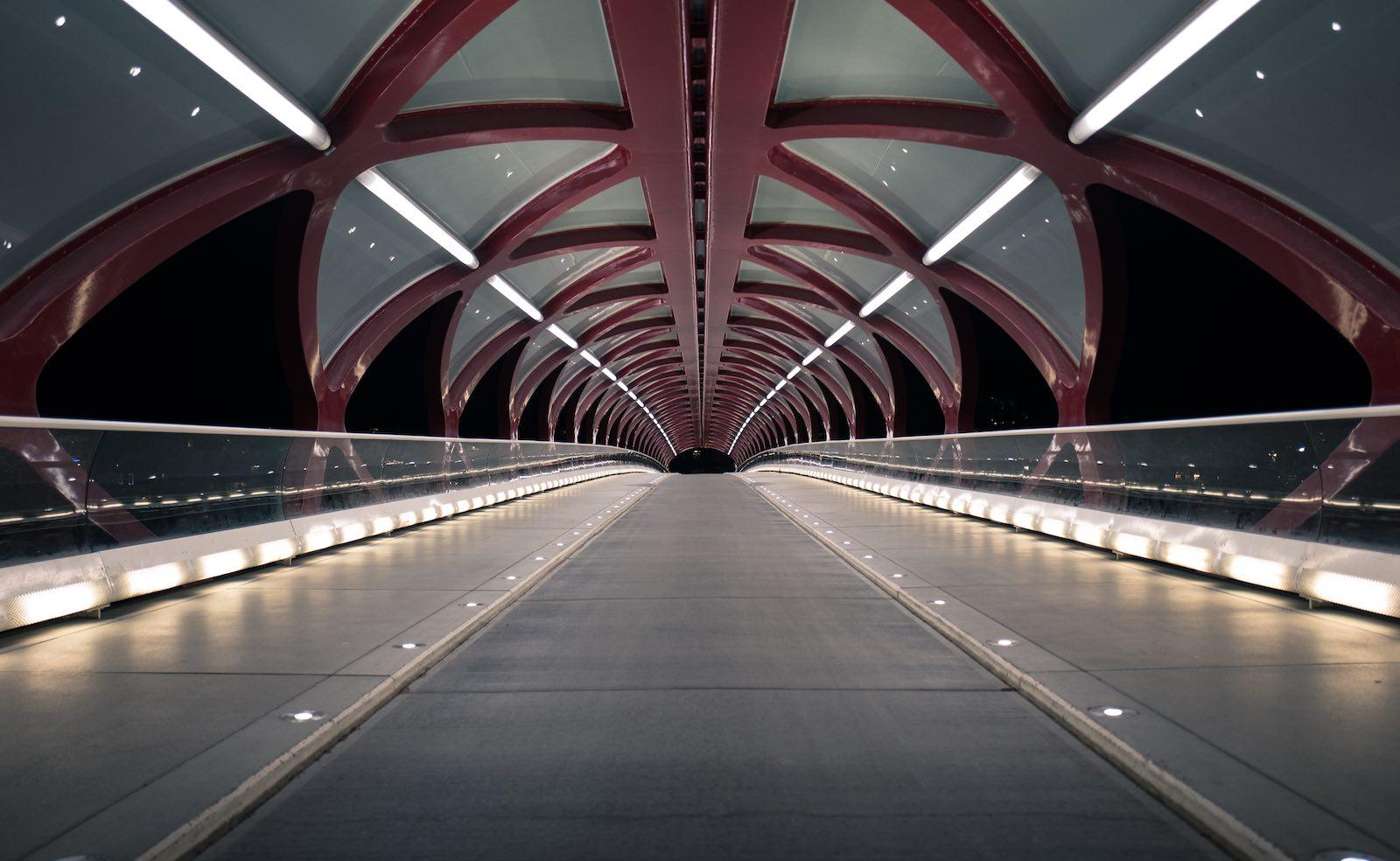 Calgary's Peace Bridge